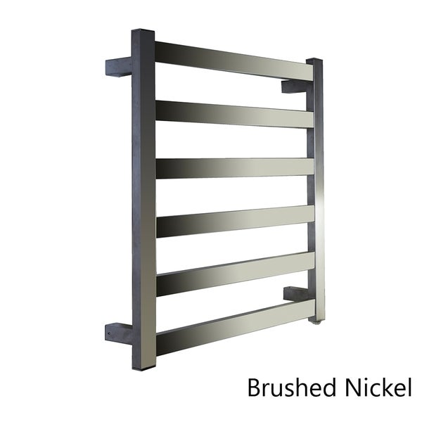 Virtu USA Koze VTW-132A Towel Warmer in Brushed Nickel