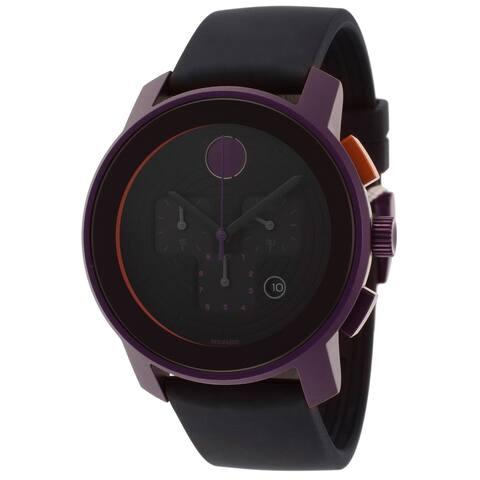 Movado Bold 3600169 Chronograph Purple Watch