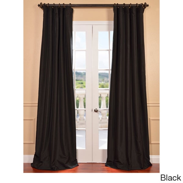 faux silk silver drapes eff taffeta solid blackout curtain panel dusky pink curtains cream