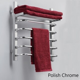 Virtu USA Koze VTW- 118A Towel Warmer in Polish Chrome