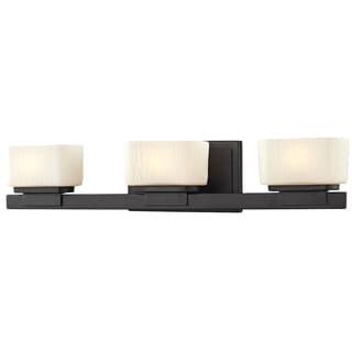 Gaia 3-light Bronze Vanity Light Fixture