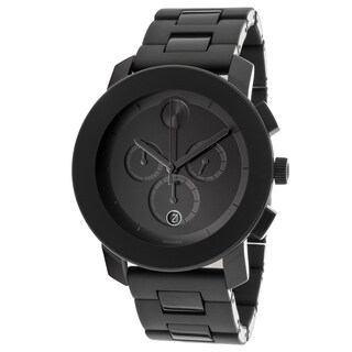 Movado Bold Men's 3600048 Chronograph Black Bracelet Watch