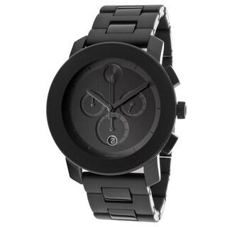 Movado Bold Men's Chronograph Black Bracelet Watch