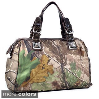 Realtree Camouflage Satchel with Bonus Strap