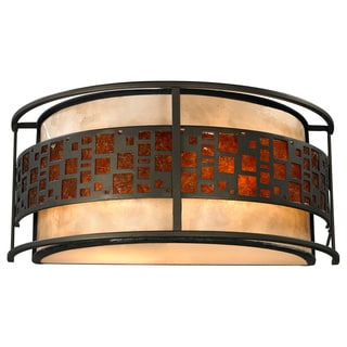 Oak Park 2-light Java Bronze Wall Sconce