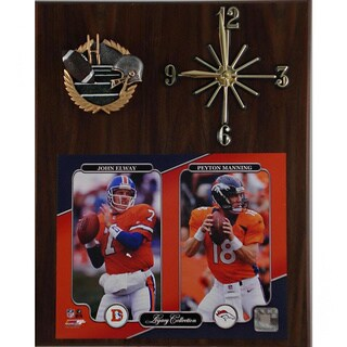 NFL Legacy Denver Broncos Clock