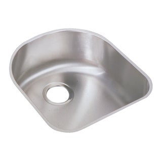 Elkay Harmony Lustertone Stainless Steel Single-bowl Undermount Sink