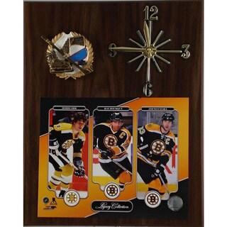 NHL Legacy Boston Bruins Clock