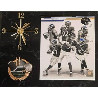 NFL 2013 Baltimore Ravens Team Photo Clock