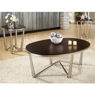 Greyson Living Galaxy Espresso Occasional Tables (Pack of 3)