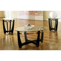 Mandalay Glass Top Occasional Tables by Greyson Living (Pack of 3)