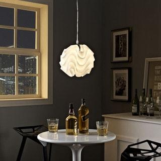 Swell Pendant Light in White