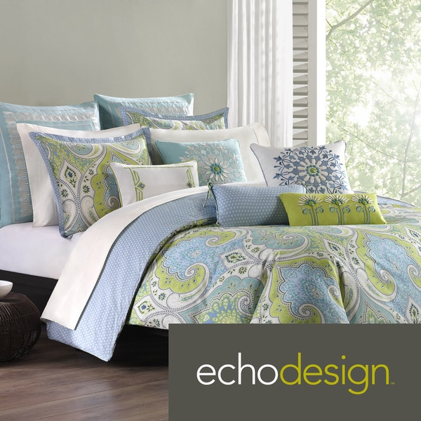 Echo Design Sardinia Multi-cotton Duvet Cover