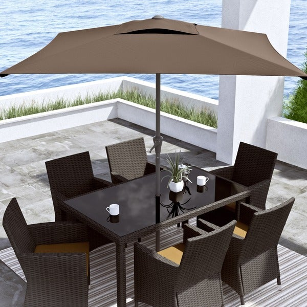 CorLiving Square Patio Umbrella   Free Shipping Today   Overstock.com    16277125