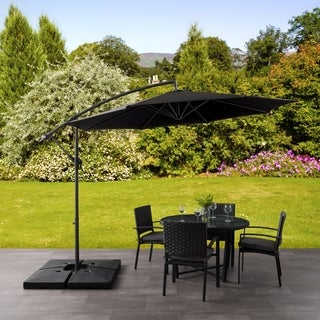 Awesome CorLiving Offset Patio Umbrella