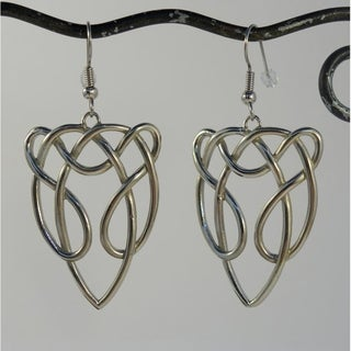 Silver-tone Celtic Horse Earrings (Indonesia)