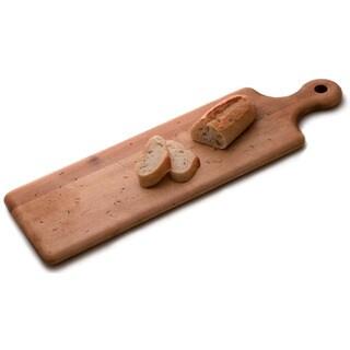 JK Adams Artisan Break Plank Board and Strata Slate Cheese Serving Board