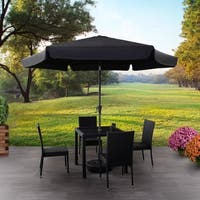 CorLiving Round Tilting Patio Umbrella