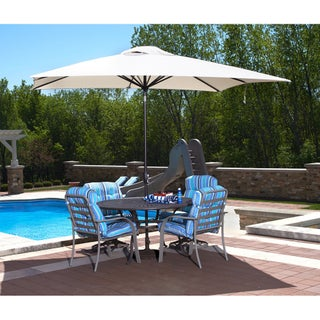 Caspian Rectangular Market Olefin Umbrella (2 options available)