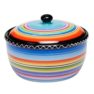 Tequila Sunrise 2-quart Bean Pot