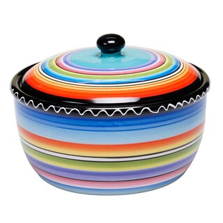 Tequila Sunrise 2-quart Bean Pot - Multi-color