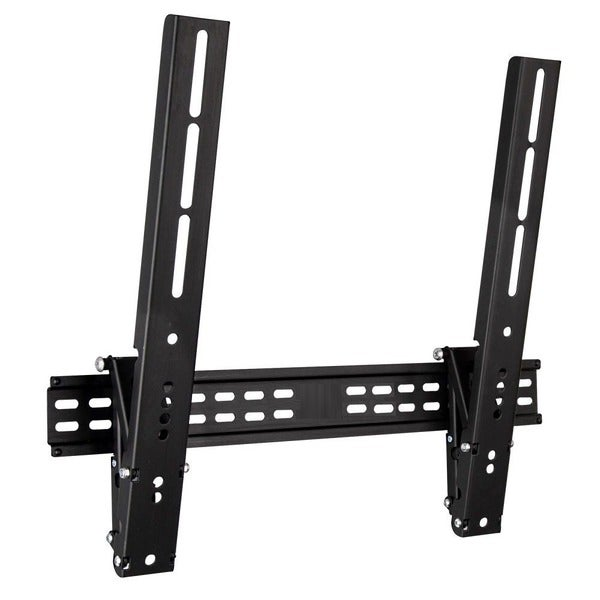 Shop mount it low profile tilting tv wall mount for led lcd plasma tv 39 s free shipping on - Tv wall mount reviews ...