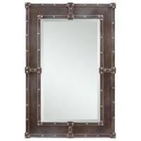 Aria Industrial rectangular Wall Mirror