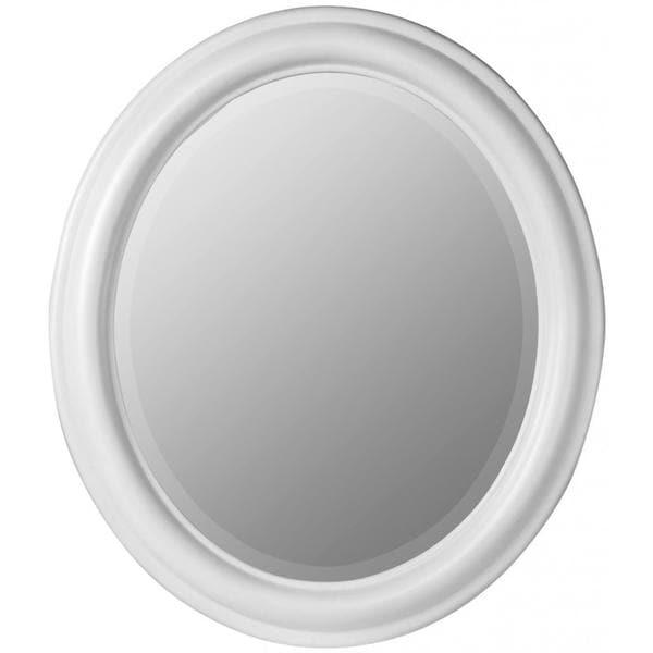 Mitchell Chesapeake White Oval Wall Mirror