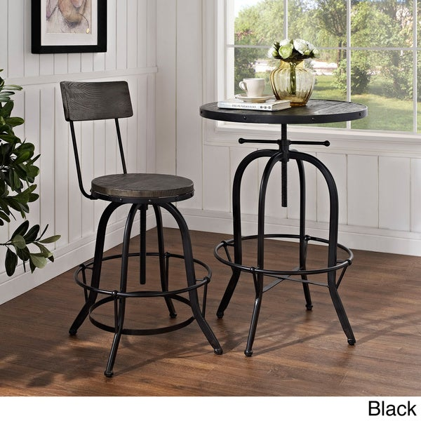 Modway Wood Bar Stool Free Shipping Today Overstock