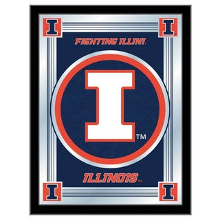 Holland Big Ten Logo Mirror