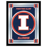 Holland Big Ten Logo Mirror
