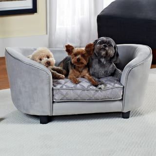 Enchanted Home Pet Quicksilver Pet Bed|https://ak1.ostkcdn.com/images/products/9088709/P16278328.jpg?impolicy=medium
