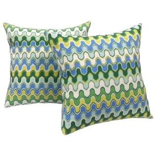 Oasis Indoor / Outdoor Throw pillows (Set of 2)