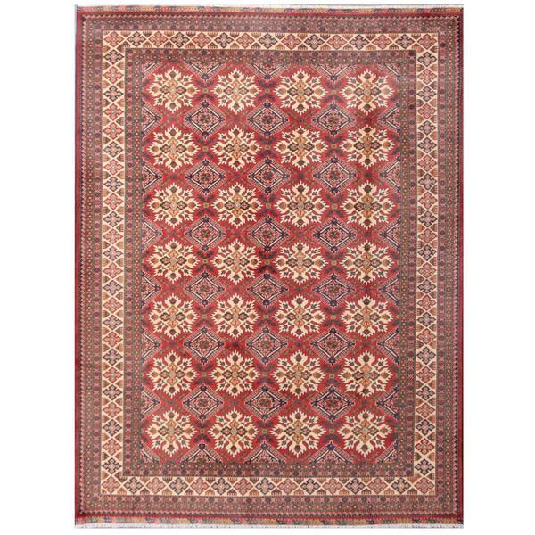 Herat Oriental Afghan Hand-knotted Tribal Kargahi Wool Rug (8'7 x 11'3) - 8'7 x 11'3