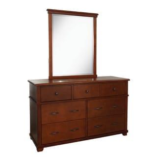 Woodridge 7-drawer Dresser and Mirror Set