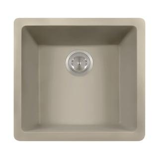 Polaris Sink P508 Slate AstraGranite Single Bowl Kitchen Sink