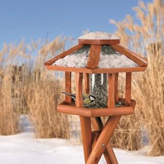 Trixie Deluxe Wooden Tripod Gazebo Bird Feeder