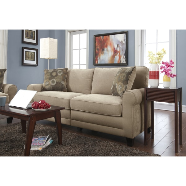 Serta RTA Copenhagen Collection 78 Inch Vanity Fabric Sofa