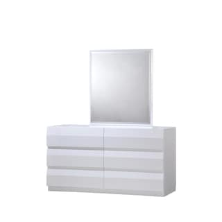 White High Gloss Mirror