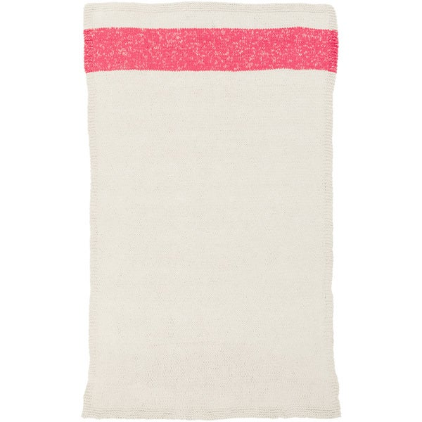 PEPPER Hand-woven Pink Braided Area Rug (8' x 10') - 8' x 10'