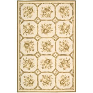 Nourison Country Heritage Ivory Yellow Rug