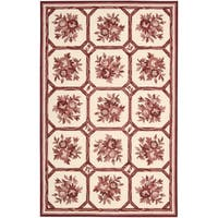 Nourison Country Heritage Ivory/Red Rug (1'9 x 2'9)