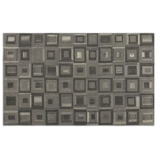 Uttermost Matrice Grey Wool Rug (5' x 8' )