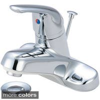 Olympia Series L-6162 Elite Single Handle Lavatory Faucet and Brass Pop-Up Drain Assembly