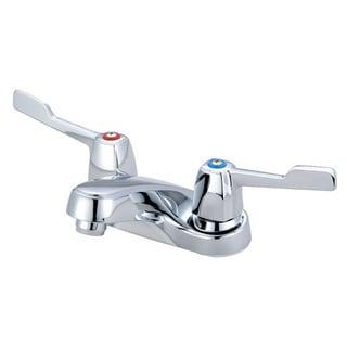 Olympia L-7251 Elite Centerset Lavatory Faucet Wrist Blade Handles