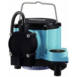 Little Giant 506158 6-CIA Submersible Sump Pump, 1/3 Horsepower