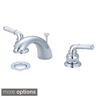 Olympia Series L-7330 Accent Two Handle Widespread Lavatory Faucet with 50/50 Pop-Up Drain Assembly