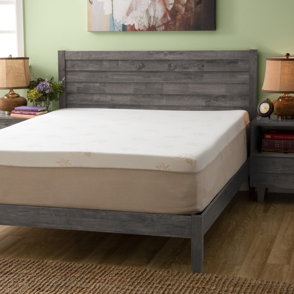 overstock memory foam mattress Shop Grande Hotel Collection 14 inch Queen size Trizone Gel Memory  overstock memory foam mattress