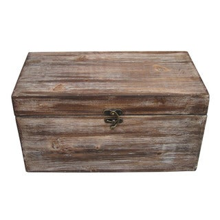 Set of 2 Rustic Decorative Boxes (China)