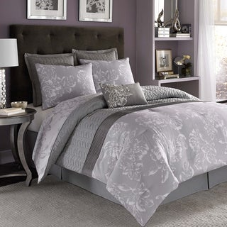 Nicole Miller Floral 7 Piece Comforter Set Free Shipping Today Overstock Com 16279037